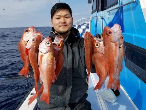 午前船釣果