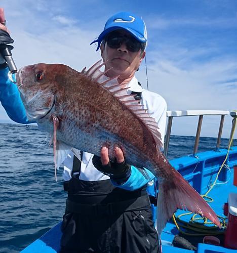 震災復興 第5回日立沖真鯛釣り大会